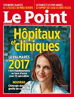 Le Palmarès 2017 des Hôpitaux et Cliniques du Point vient de sortir