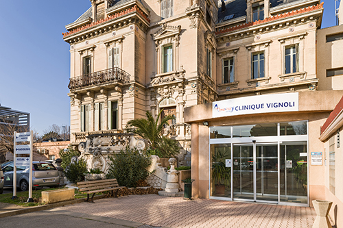 Clinique vignoli almaviva sant for Centre radiologie salon de provence