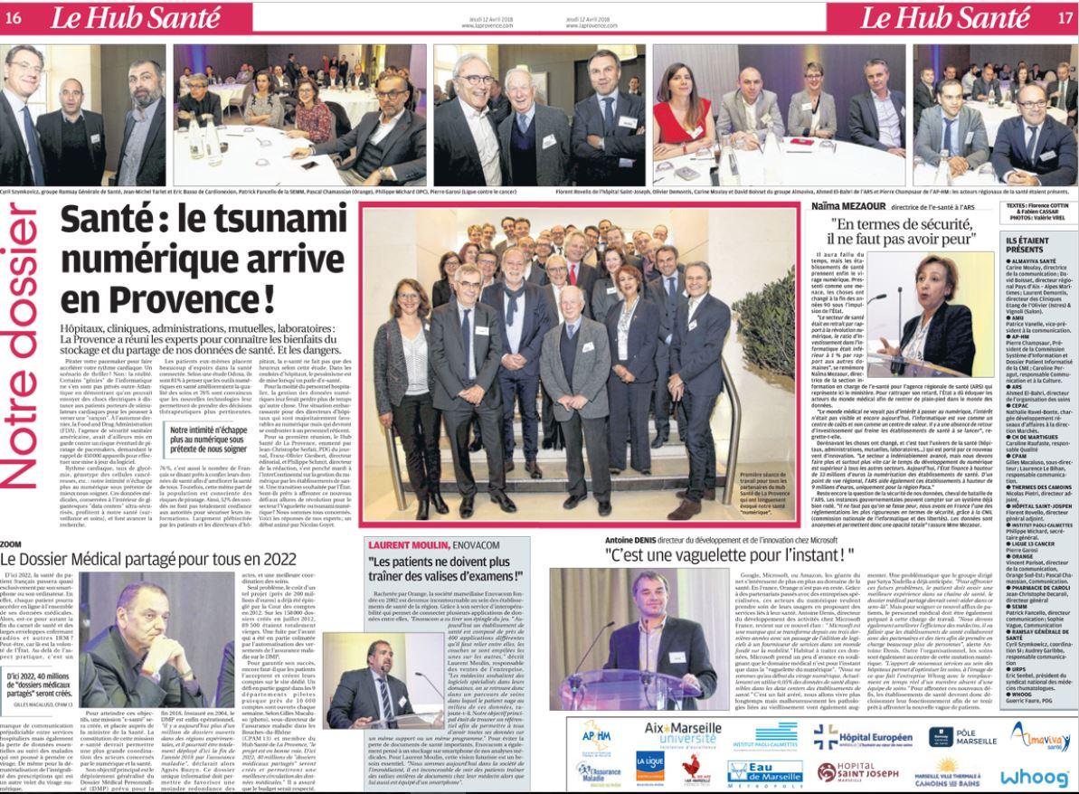 Santé : le tsunami numérique arrive en Provence !
