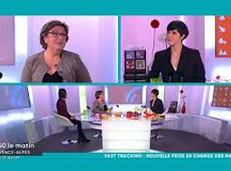 Interview de Jackie Timpone (Clinique Juge) dans 9h50 le matin