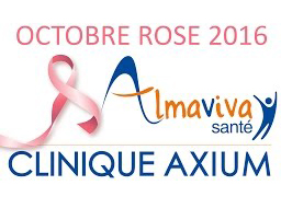 Octobre Rose 2016 à la Clinique Axium